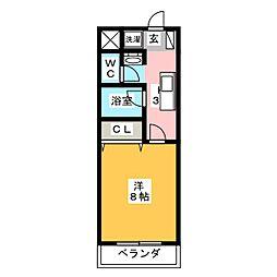 MTS GOKISO[1階]の間取り