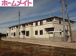三重県多気郡明和町大字明星の賃貸アパートの外観