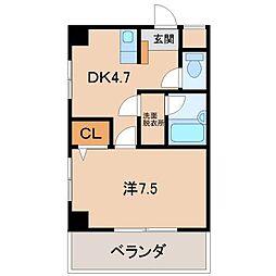光アベニュー[2階]の間取り