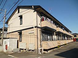 東京都昭島市武蔵野2丁目の賃貸アパートの外観