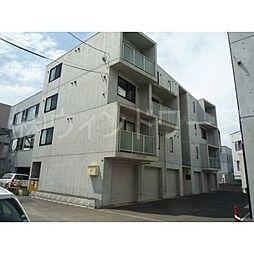 北海道札幌市東区北十三条東6丁目の賃貸マンションの外観