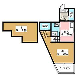 Dream Stage香椎II[2階]の間取り