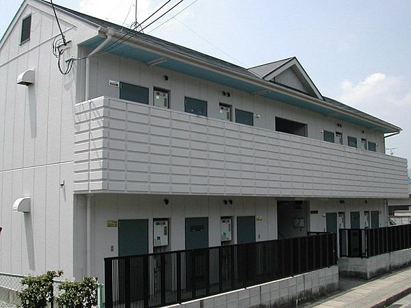 松谷ハイツ[1階]の外観