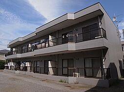 第一フラワーマンション[1階]の外観