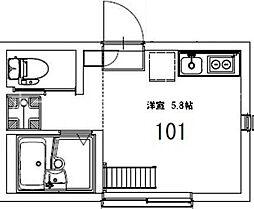 AZEST-RENT羽田I[1階]の間取り