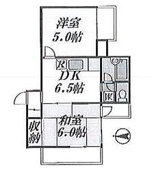 フラッツ飯田 bt[305kk号室]の間取り
