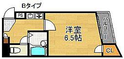 パークメゾン住吉[5階]の間取り