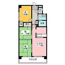 クレストAi−1[1階]の間取り