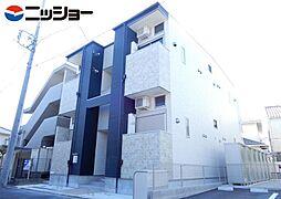 愛知県名古屋市昭和区川名町5丁目の賃貸アパートの外観