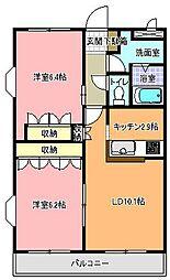 ラ・フィール[3階]の間取り