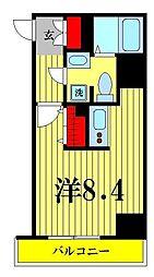 東京都墨田区緑3丁目の賃貸マンションの間取り