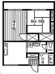 ヒダカハイツ21[305号室]の間取り