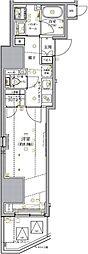都営新宿線 小川町駅 徒歩2分の賃貸マンション 3階1Kの間取り