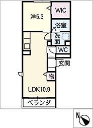 仮)D−room町田町[1階]の間取り