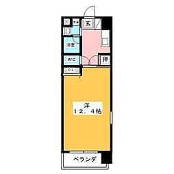 イーハトーヴII[3階]の間取り