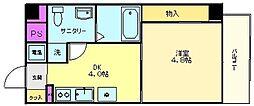 プログレス アペゼ[9階]の間取り
