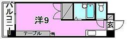 ガーデンハイツ緑町[406 号室号室]の間取り