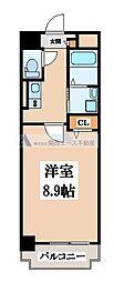 コーナーズ・ビルディング[1階]の間取り