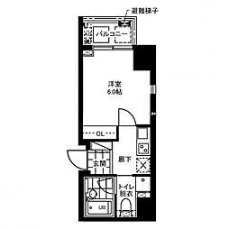 レジディア文京本郷II[4階]の間取り