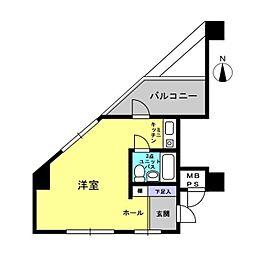 ライオンズマンション川崎大師第3[301号室]の間取り