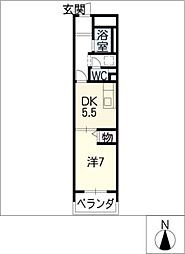 アーバンライフ金山II[5階]の間取り