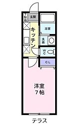 作草部駅 3.9万円