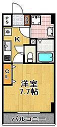アーバン・ソレイユ[7階]の間取り