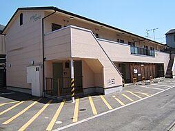 京都府京都市山科区椥辻西浦町の賃貸アパートの外観