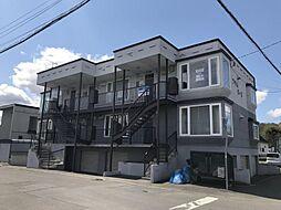 北海道旭川市春光六条9丁目の賃貸アパートの外観
