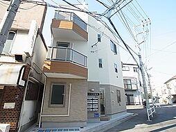 東京都葛飾区堀切2の賃貸アパートの外観