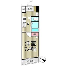 鎌倉服部ビル[302号室]の間取り