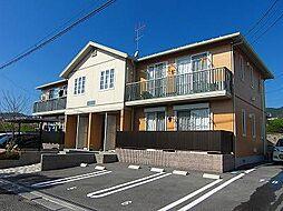 広島県東広島市八本松飯田5丁目の賃貸アパートの外観