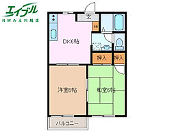 川越富洲原駅 4.2万円