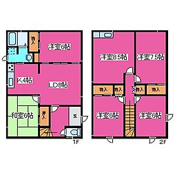 [一戸建] 北海道札幌市手稲区金山三条1丁目 の賃貸【/】の間取り