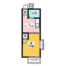 狭山ヶ丘駅 3.4万円