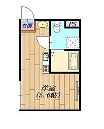 エスアールYAZAIKE[2階]の間取り
