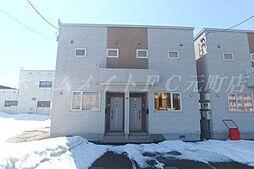 [テラスハウス] 北海道札幌市東区伏古三条5丁目 の賃貸【/】の外観