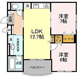 北長瀬駅 9.6万円