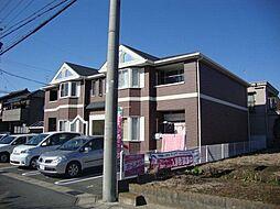 愛知県北名古屋市鹿田永塚の賃貸アパートの外観