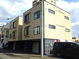 北海道札幌市中央区北五条西21丁目の賃貸アパートの外観