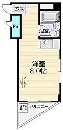 石原マンション三山[306号室]の間取り