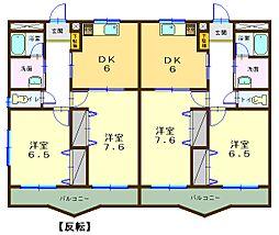 ルネッサ徳倉東町[3階]の間取り