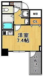 スワンズシティ大阪WEST[8階]の間取り