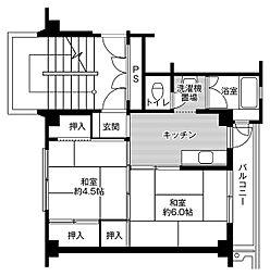 【敷金礼金0円!】ビレッジハウス行松1号棟