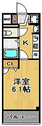 スワンズシティ大阪WEST[7階]の間取り