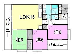 MSS−2[301 号室号室]の間取り