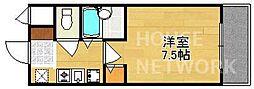 グランソフィア[B305号室号室]の間取り