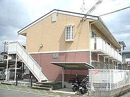 大阪府高槻市富田町2丁目の賃貸アパートの外観