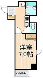 東林ビル(とうりん)[9階]の間取り