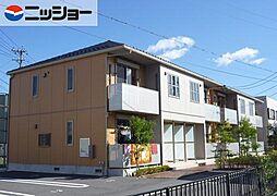 ハピネス・エヴィッサ B棟[1階]の外観